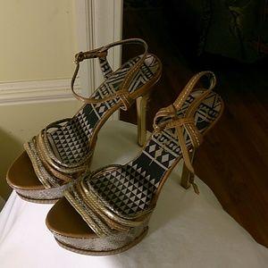 Jessica Simpson heeled sandals